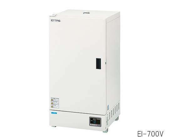 1-9383-42-20 インキュベーター(タイマー・エアジャケット自然対流式) 135L 校正証明書付 EI-700V アズワン(AS ONE)