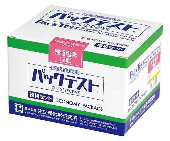パックテスト 残留塩素(遊離) KR-ClO・DP(150回分)