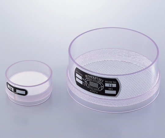 塩化ビニル枠ふるい 150メッシュ φ150 サンポー