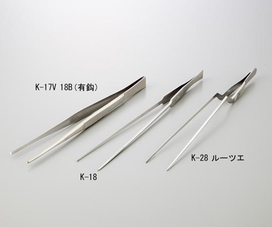 ピンセット K-18 幸和ピンセット(KFI)【Airis1.co.jp】