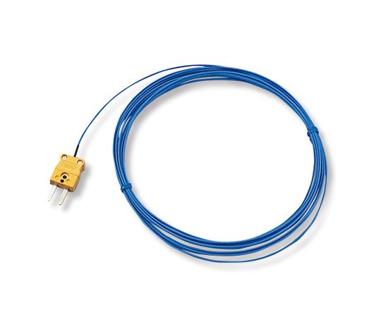 ビニール被覆熱電対 DK-K-BL-5m-コネクター(5m)
