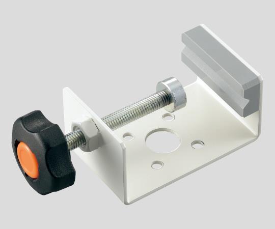 高圧ガスボンベ減圧弁固定用金具