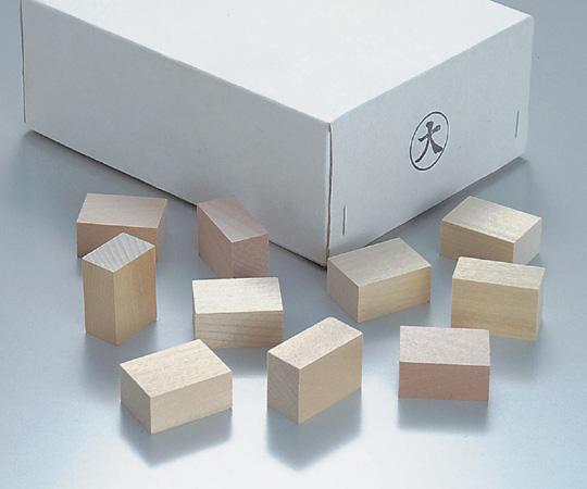 パラフィン用木製ブロック 大(100個)【Airis1.co.jp】