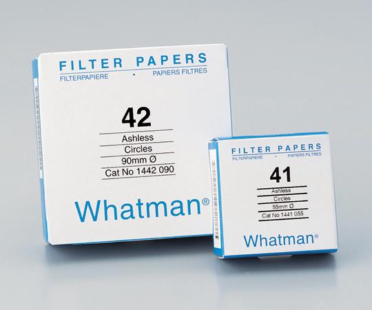 定量円形濾紙 No.41 5.5cm(100枚) ワットマン(Whatman)(Cytiva)