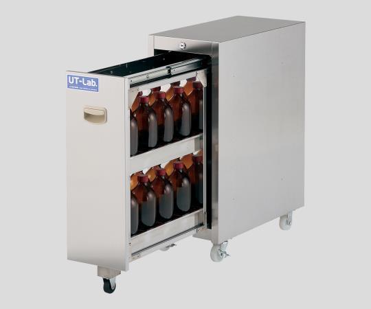 2-708-01 薬品保管ユニット(UT-Lab.) 251×500×652mm SS1-UTC アズワン(AS ONE)