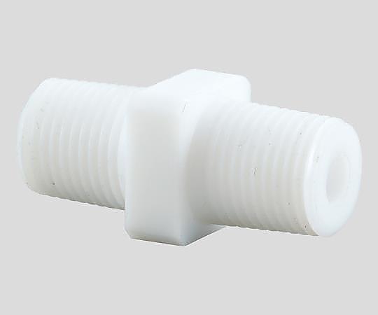 アズフロン ニップル AF-R 1/8×1/8 アズワン(AS ONE) 2-727-01
