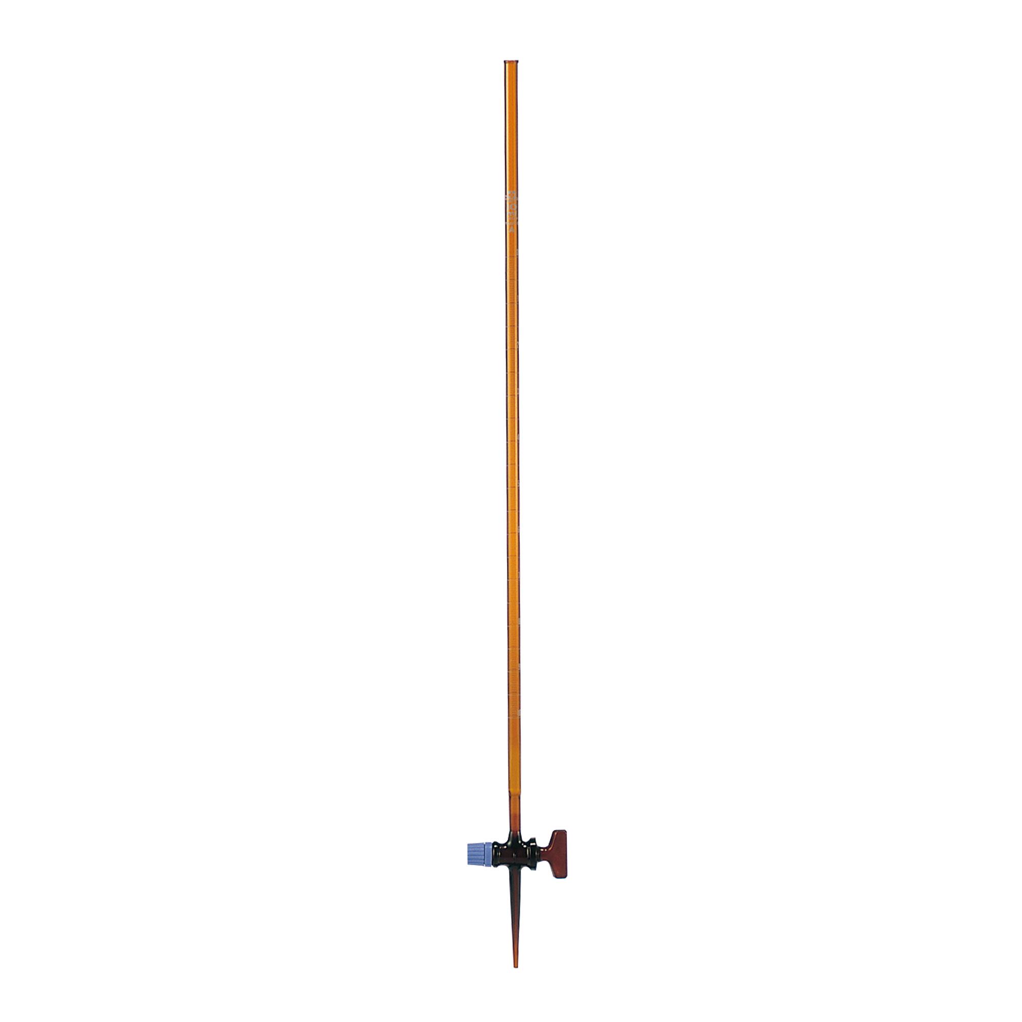 ビュレット スーパーグレード ガラスコック付 褐色 10mL
