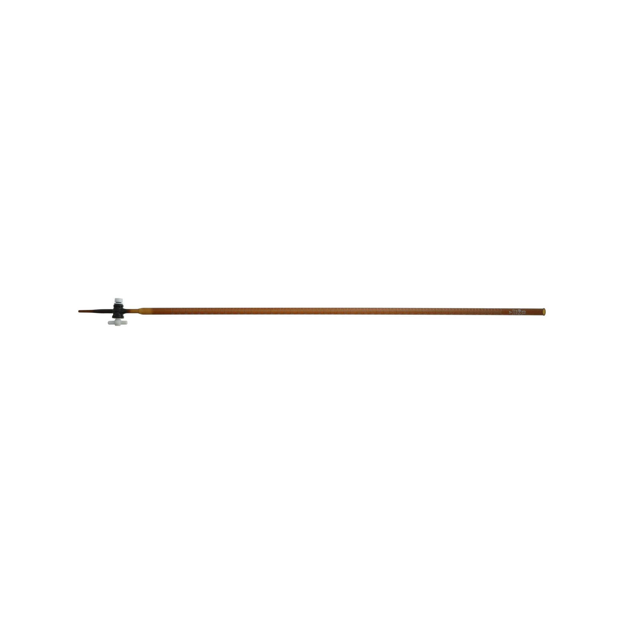 021320-50 ビュレット スーパーグレード PTFEコック付 褐色 50mL 柴田科学(SIBATA)
