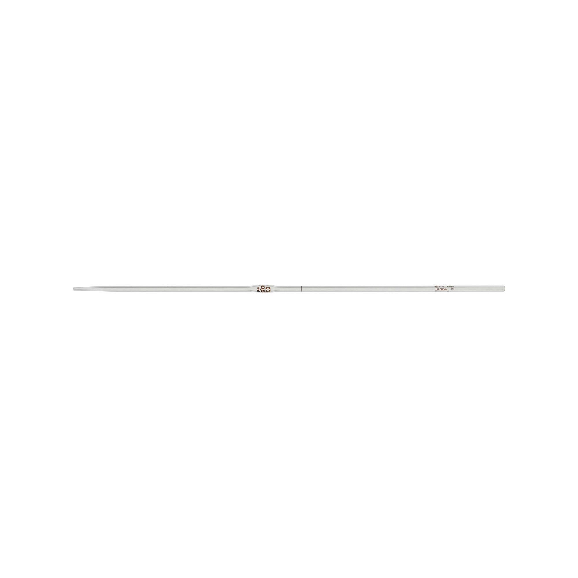 ホールピペット カスタムA 0.5mL(10本)