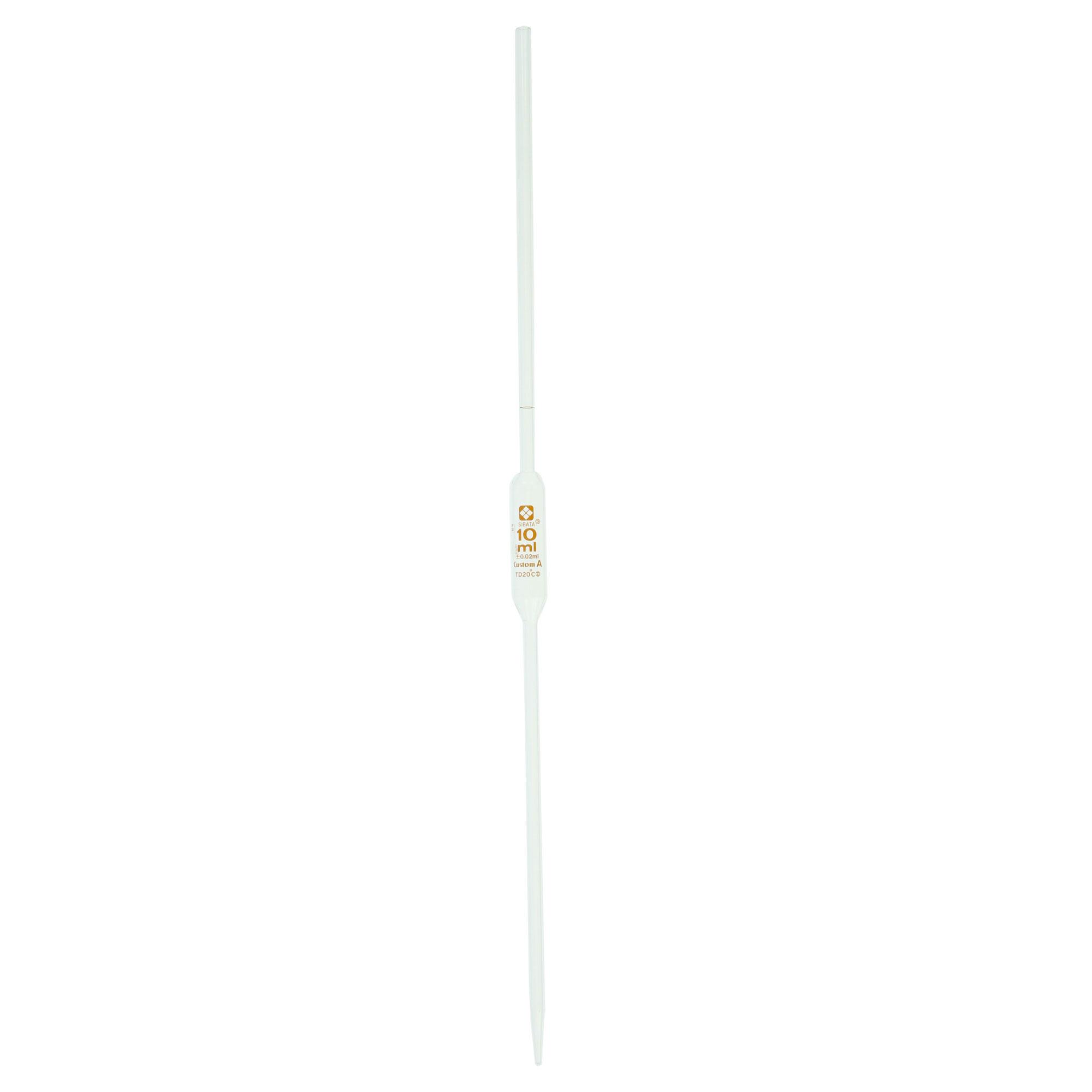ホールピペット カスタムA 1mL(10本)