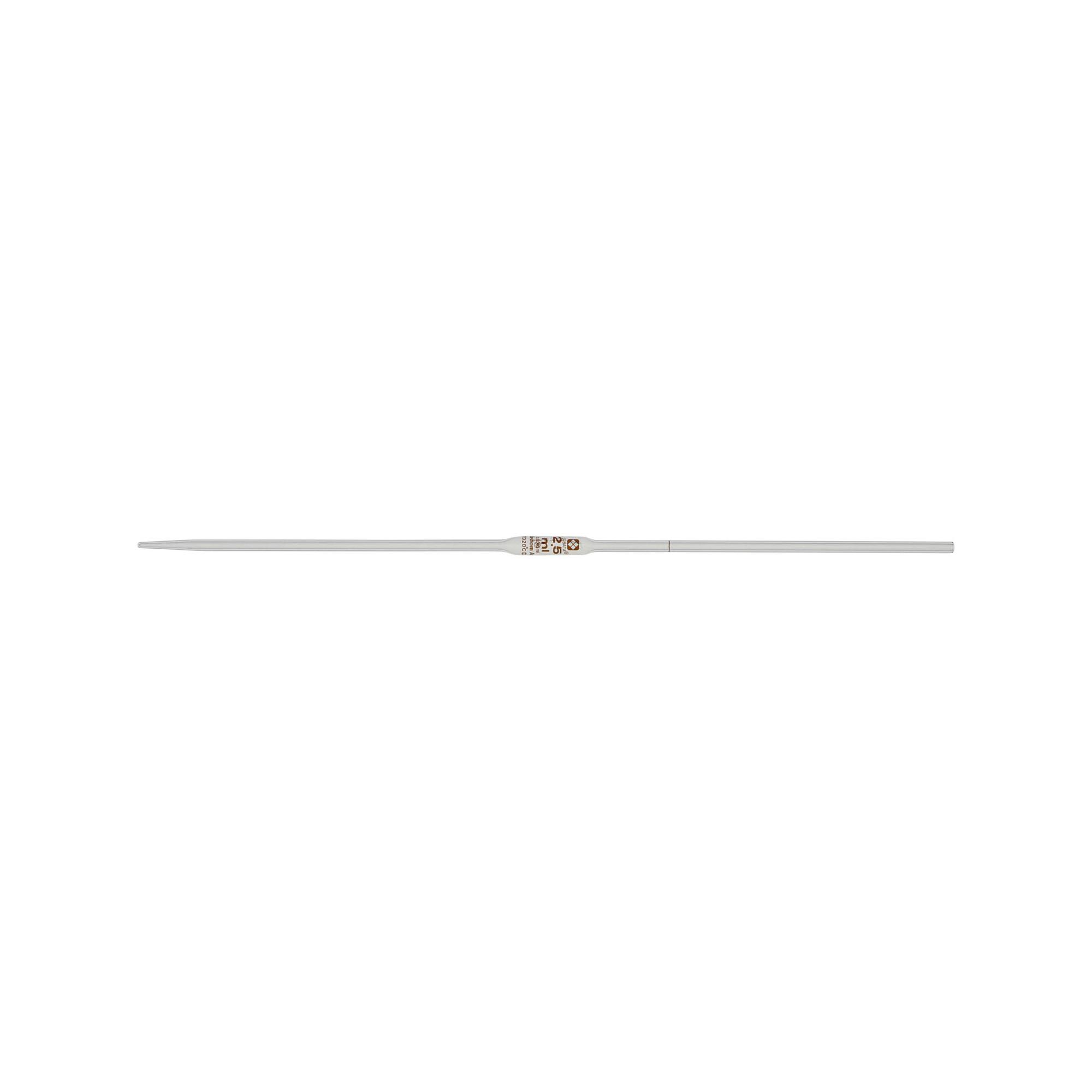 ホールピペット カスタムA 2.5mL(10本)