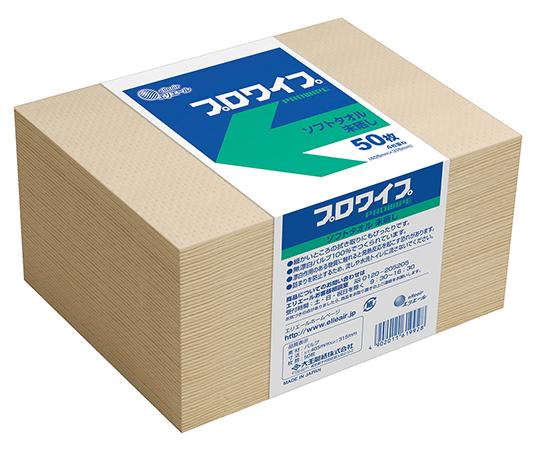 703523 エリエール プロワイプ ソフトタオル 未晒帯どめ50 703523(50枚×24袋) 大王製紙(エリエール)