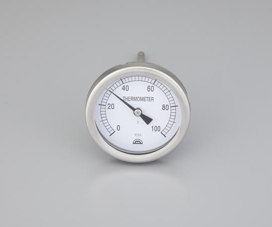 バイメタル温度計 センサー形状:T 校正証明書付 MS-6611