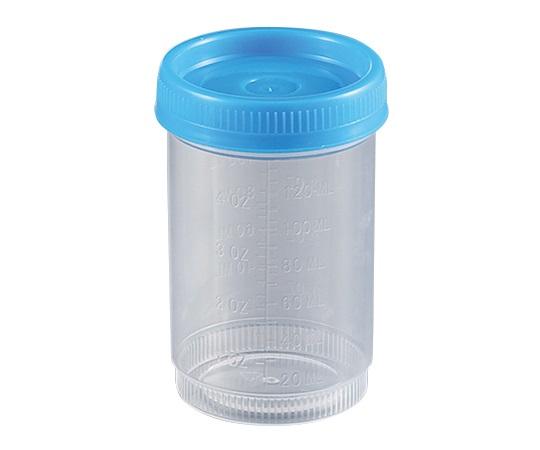 食品検体容器 120mL 青 23223-2B(100袋)