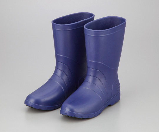 2-3810-02 サニフィット耐油長靴 青 女性用24cm アズワン(AS ONE)