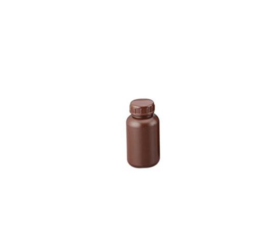 広口丸型遮光瓶 250mL (茶)