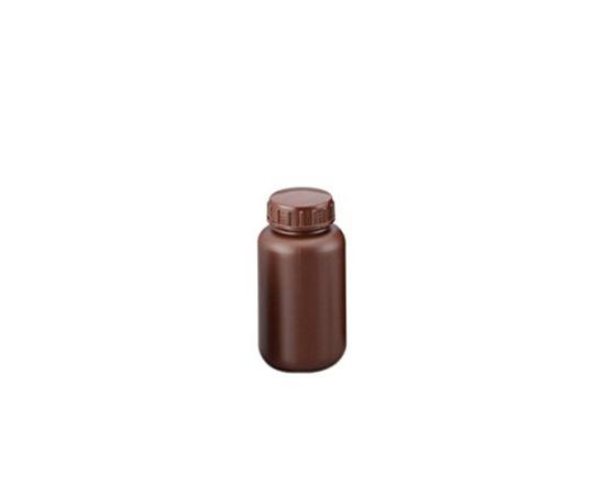 広口丸型遮光瓶 500mL (茶)