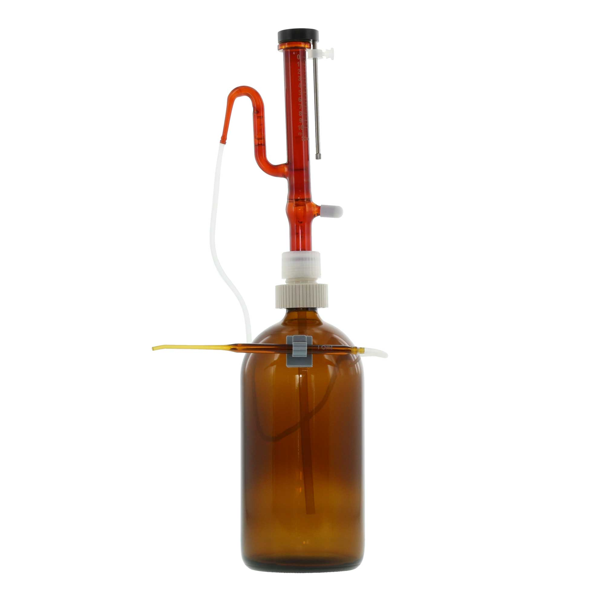 分注器 リビューレット 褐色 1-10mL