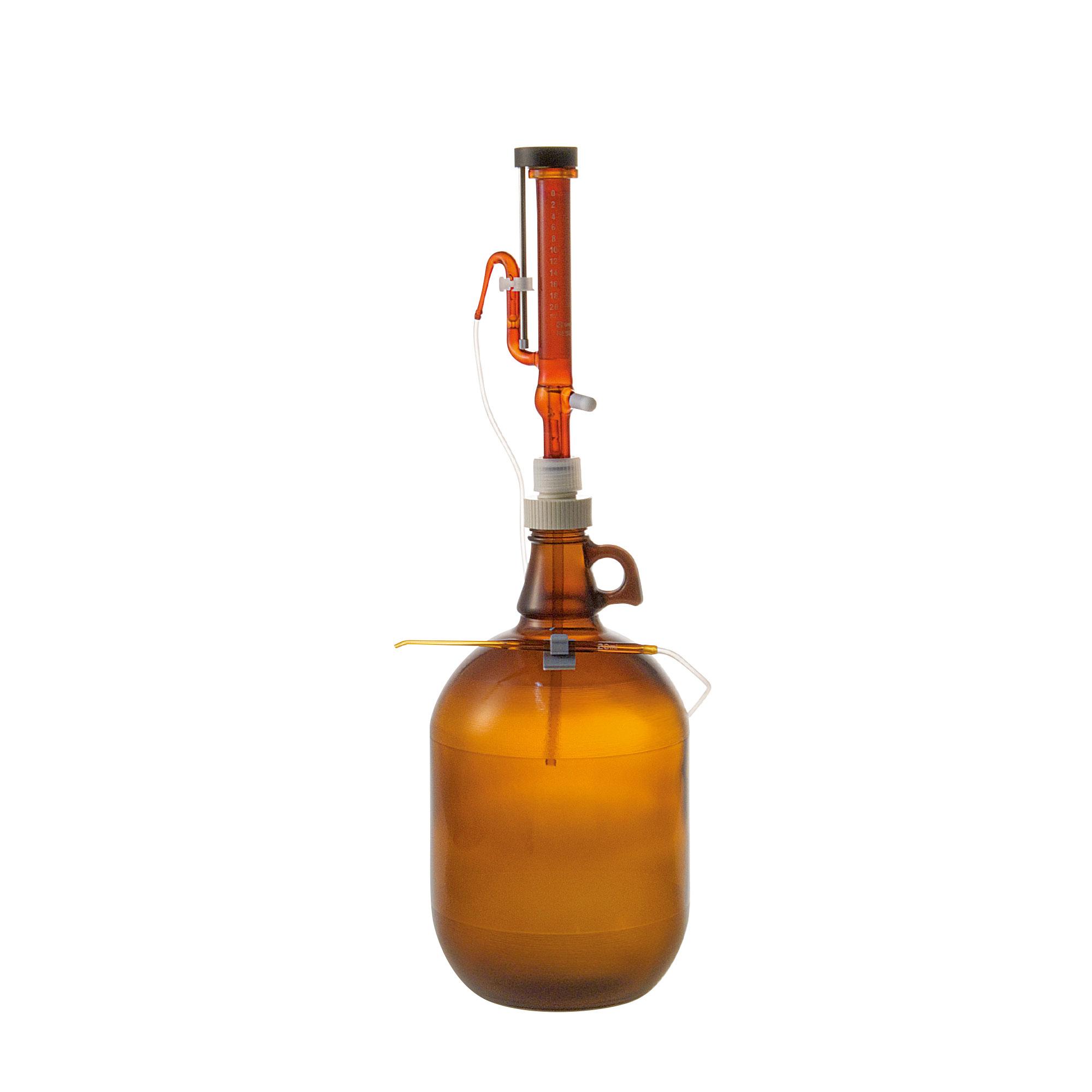 分注器 リビューレット 褐色 2-20mL