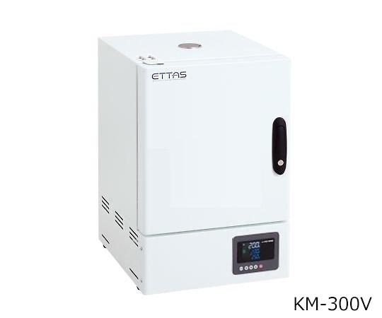 乾熱滅菌器 左扉(右ハンドル左開き) 校正証明書付 KM-300V