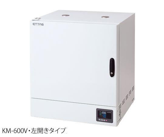 乾熱滅菌器 左扉(右ハンドル左開き) 校正証明書付 KM-600V