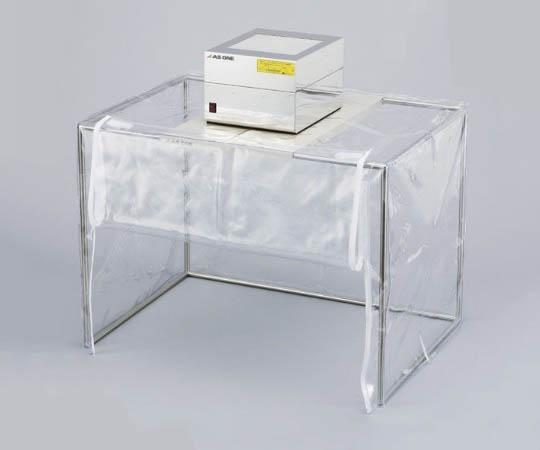 CR用防塵ブース 不織布製プレフィルター+抗菌・防臭HEPAフィルター TDC-80SAD