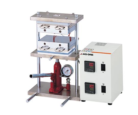 小型熱プレス機(冷却機能付き)0~1t HC300-01