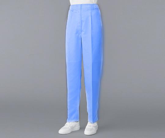 無塵衣 パンツ ブルー 3L AS305B