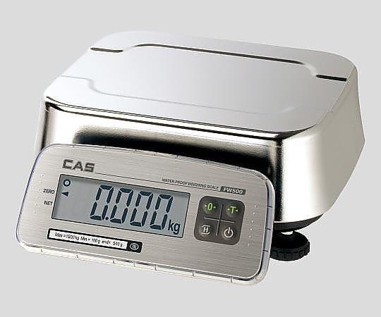 2-9845-02 防塵防水デジタル台秤 FW500C-15 アズワン(AS ONE)