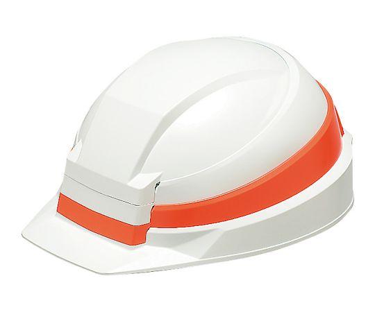 折りたたみ式ヘルメット IZANO ホワイト/オレンジ AA13-W/O