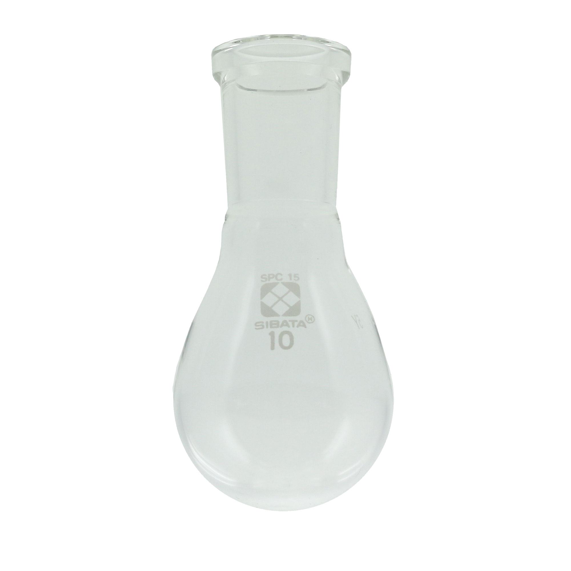 SPCなす形フラスコ 10mL SPC-15