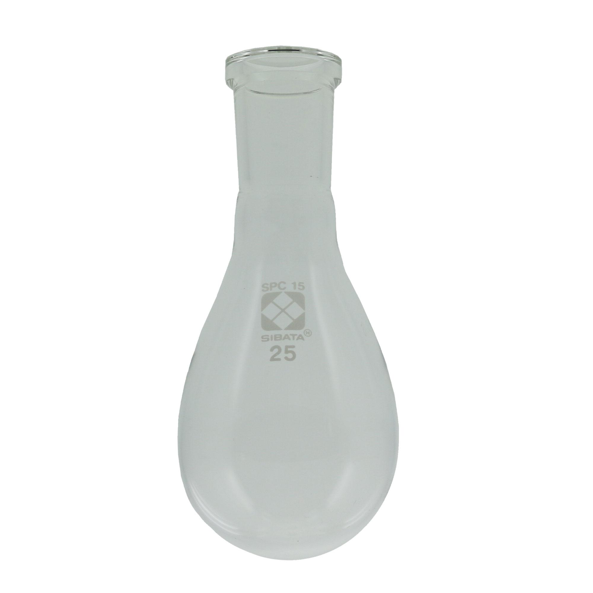 SPCなす形フラスコ 25mL SPC-15