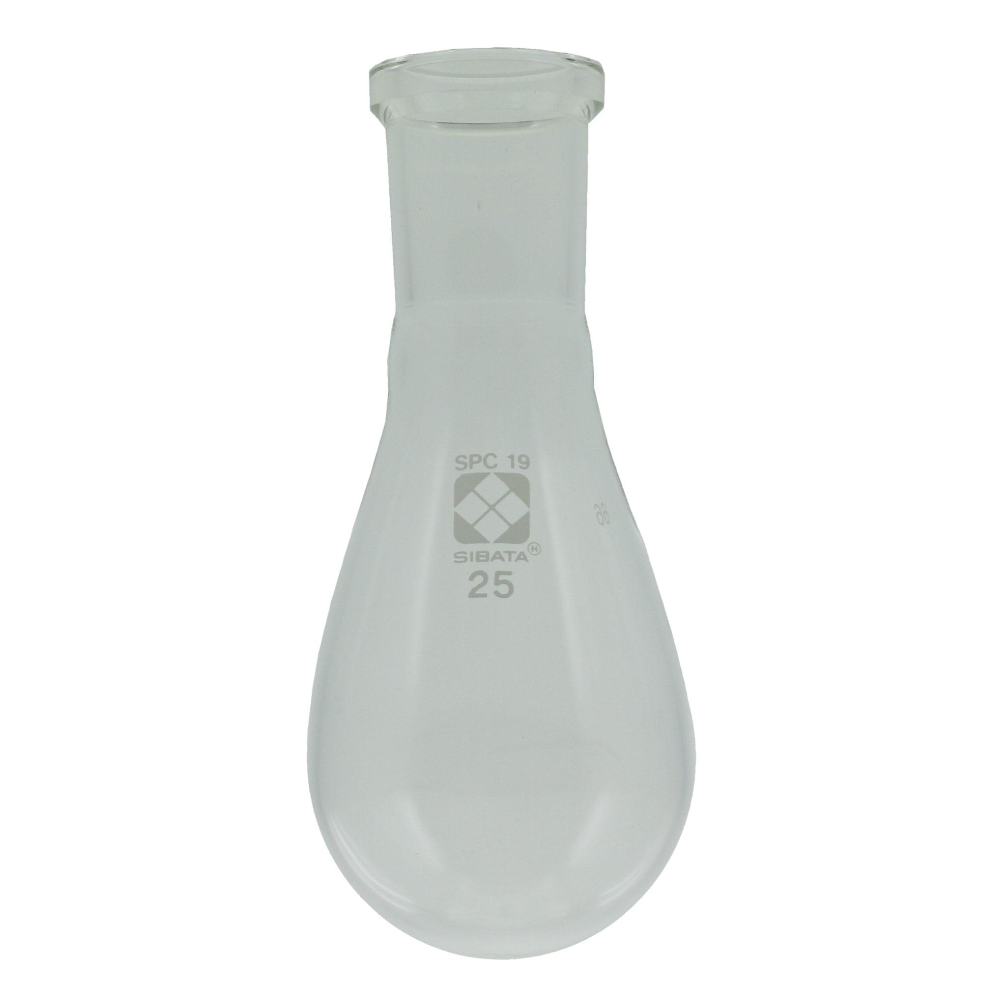SPCなす形フラスコ 25mL SPC-19