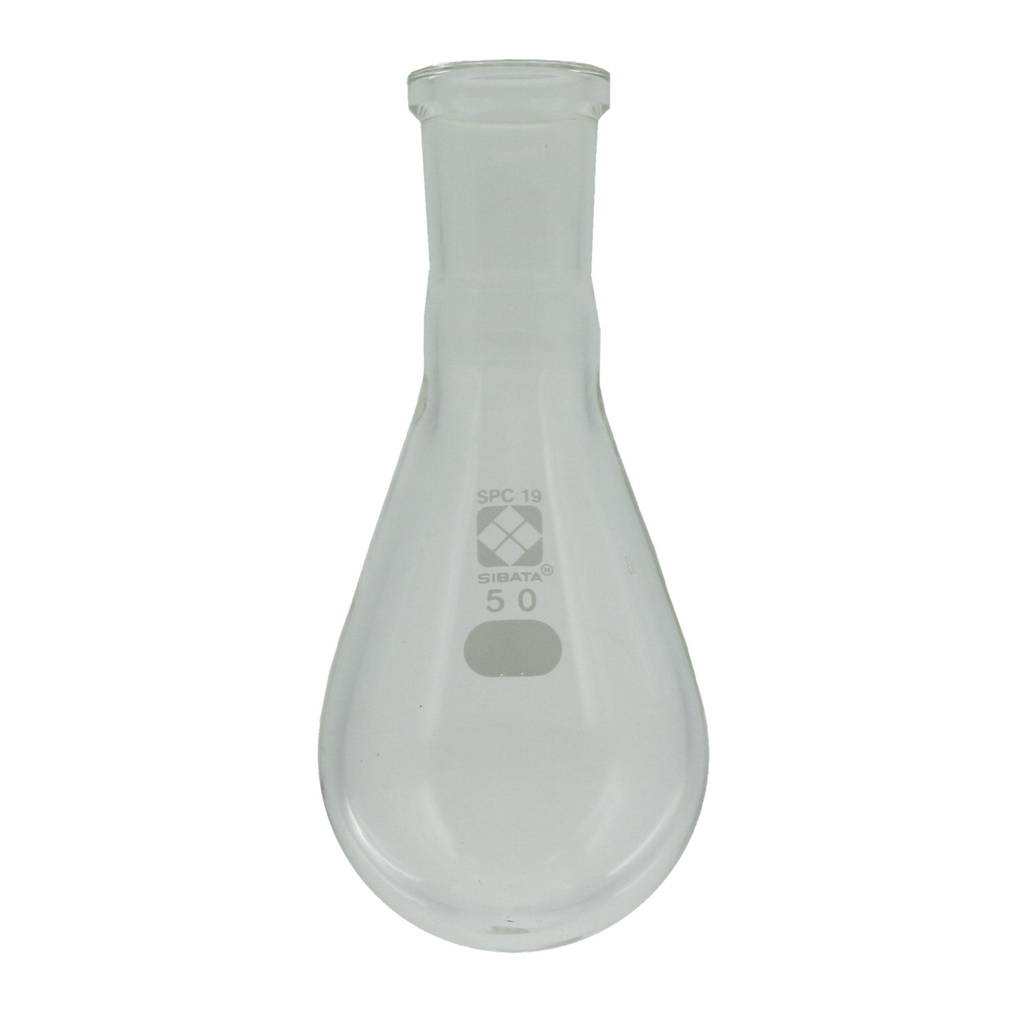 SPCなす形フラスコ 50mL SPC-19