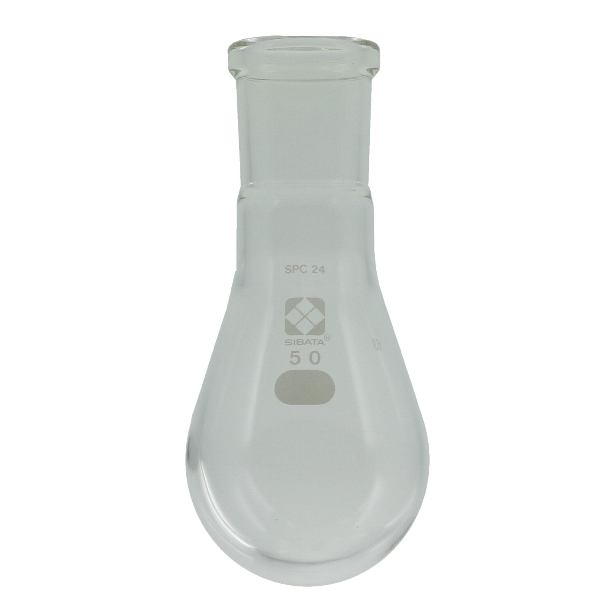 SPCなす形フラスコ 50mL SPC-24