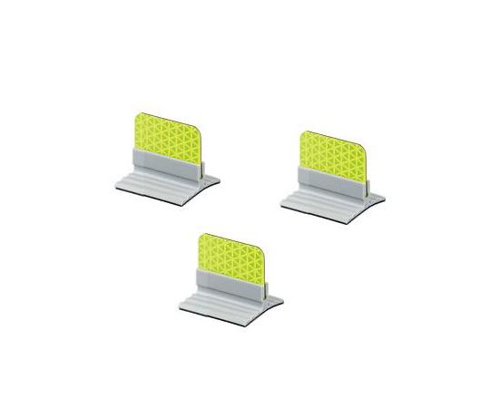 反射板 フレックスデリ(R)ECO ライムイエロー FDE40-LY/LY-TG(5個)