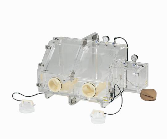 3-471-01 真空グローブボックス VG800 アズワン(AS ONE)