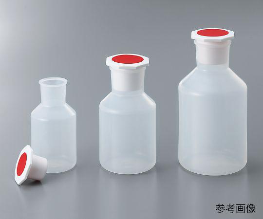 3-519-01 PP広口試薬瓶(プラグ栓付) 100mL WPRB100 アズワン(AS ONE)