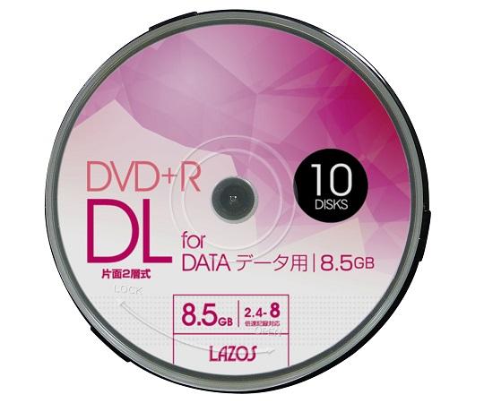 DVD+R DL データ用 スピンドル LA-DL10(10枚)