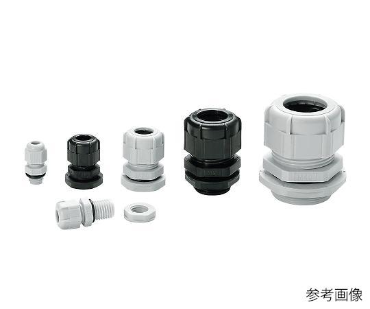 Mネジケーブルグランド(RM型) ライトグレー RM8L-2.5S-P(100個) タカチ電機工業【Airis1.co.jp】