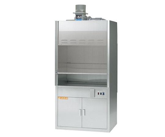 3-1370-13 ラボドラフト(SUS・W900タイプ) ファンあり ZSF-900 アズワン(AS ONE)