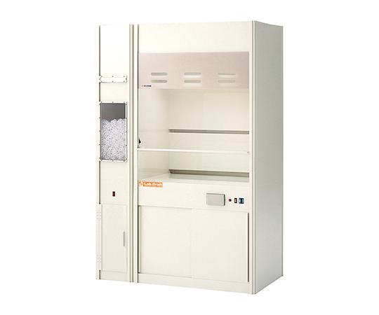 ラボドラフト(PVC・W900・湿式スクラバー付きタイプ) ZPF-900SC アズワン(AS ONE) アイリスDASH!ペーパー