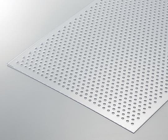 透明塩ビパンチング板 φ5.0mm穴 300×450×1t EB-4335-1