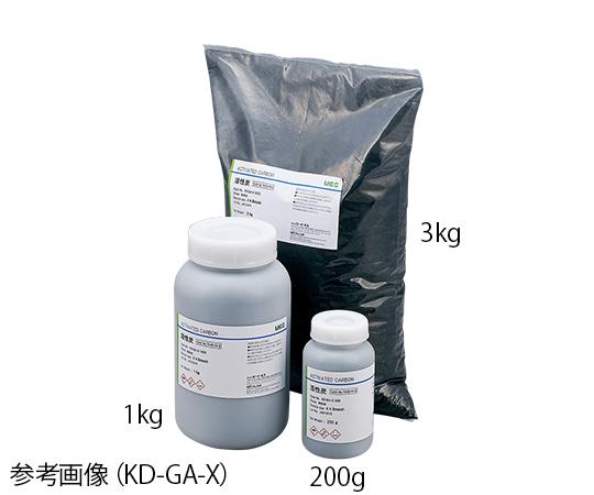 活性炭 (ヤシガラ活性炭) 活性炭加工用 1kg KD-PWSP-1000