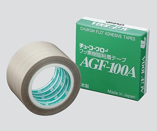 フッ素樹脂粘着テープ 38×0.13mm×10m AGF-100A-0.13-38 中興化成工業