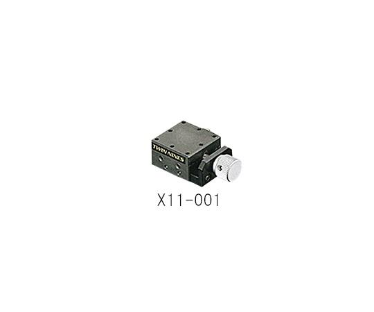 ステージ X軸 25×25mm X11-001