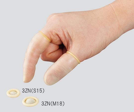 指サック・スポア(R)ロールタイプ 15×63 3ZN(S15)(1000枚)