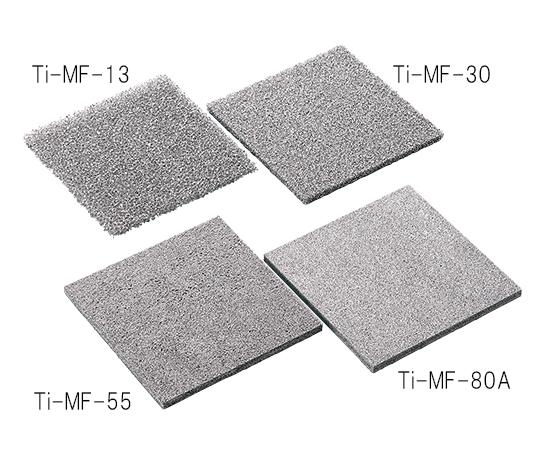 金属多孔質体 (チタン) 150×150mm 厚さ5mm 気孔径0.17mm Ti-MF-80A-□150-5