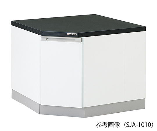 3-5826-22 サイド実験台 (木製タイプ・コーナー用) 1150×1150×800 mm SJA-1111 アズワン(AS ONE)