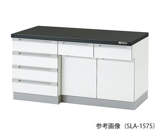 3-5827-23 サイド実験台 (木製タイプ) 1800×750×800 mm SLA-1875 アズワン(AS ONE)